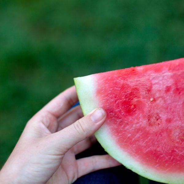 Rain and Watermelon - Happy 4th!